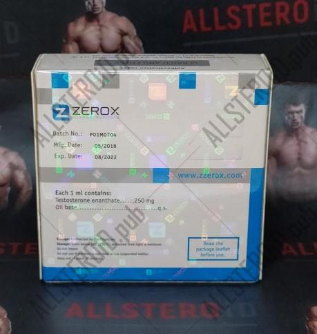 ZZEROX TESTOROX E 250MG/ML - ЦЕНА ЗА 1 АМПУЛУ