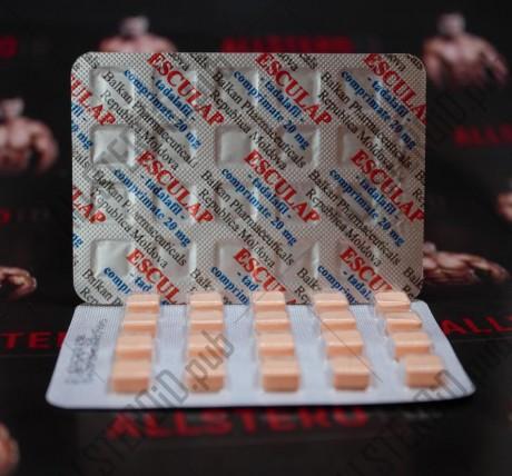 Эскулап 20 мг (Balkan Pharma)