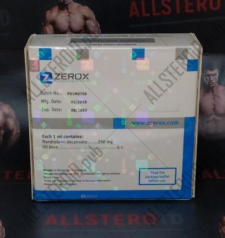 ZZEROX NANDROROX D 250MG/ML - ЦЕНА ЗА 1 АМПУЛУ